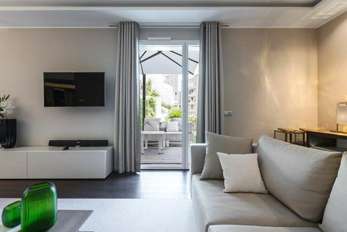 Contemporary interior of a minimalist apartment - Stylish and Elegant Apartment in Monaco