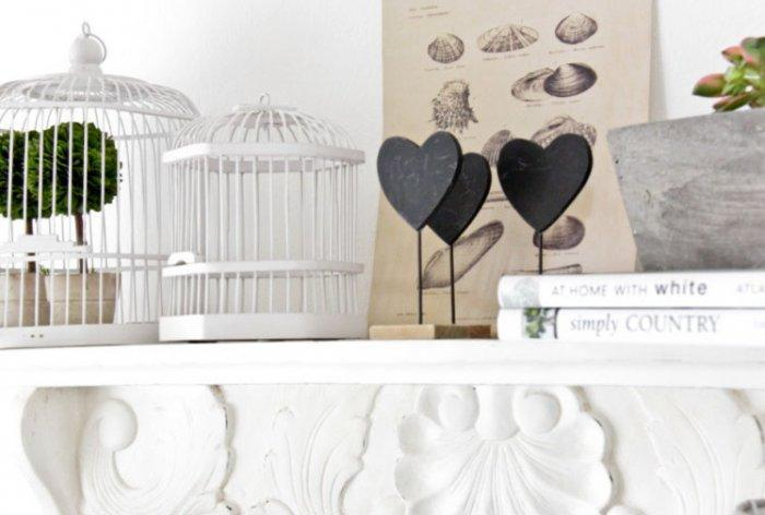 Creative heart clips - 50 Creative Home Decorating Ideas