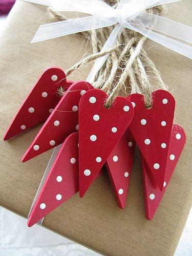 dotty hearts-Home decoration ideas for February 14th
