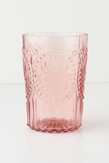 Fleur-De-Lys Tumbler -19 Amazing Valentine's Day Home Decorating Ideas