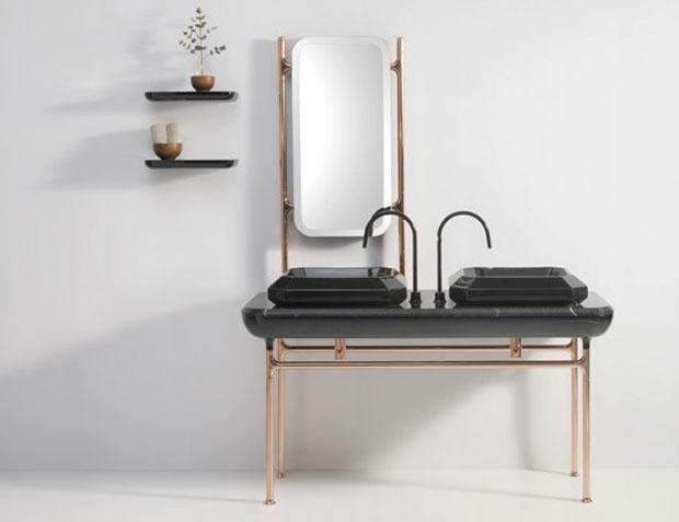 glamour blended with Scandinavian design and feminine touches- essential elements in home interior areas