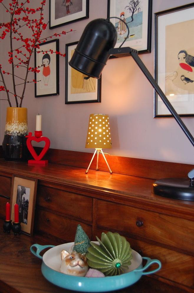 Little red heart candleholder - 50 Creative Home Decorating Ideas