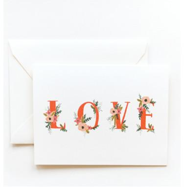 Love Card - 19 Amazing Valentine's Day Home Decorating Ideas