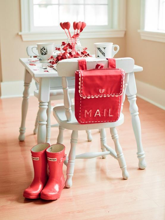 lovely-sweet-table-in-Red-Home decoration ideas for February 14th