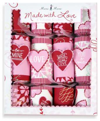 Interesting and Funny Approach to Saint Valentine's Day - Meri Meri Valentine's Day Crackers
