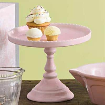 Rosanna Decor Bon Bon Pink Round Cake Stand - 19 Amazing Valentine's Day Home Decorating Ideas