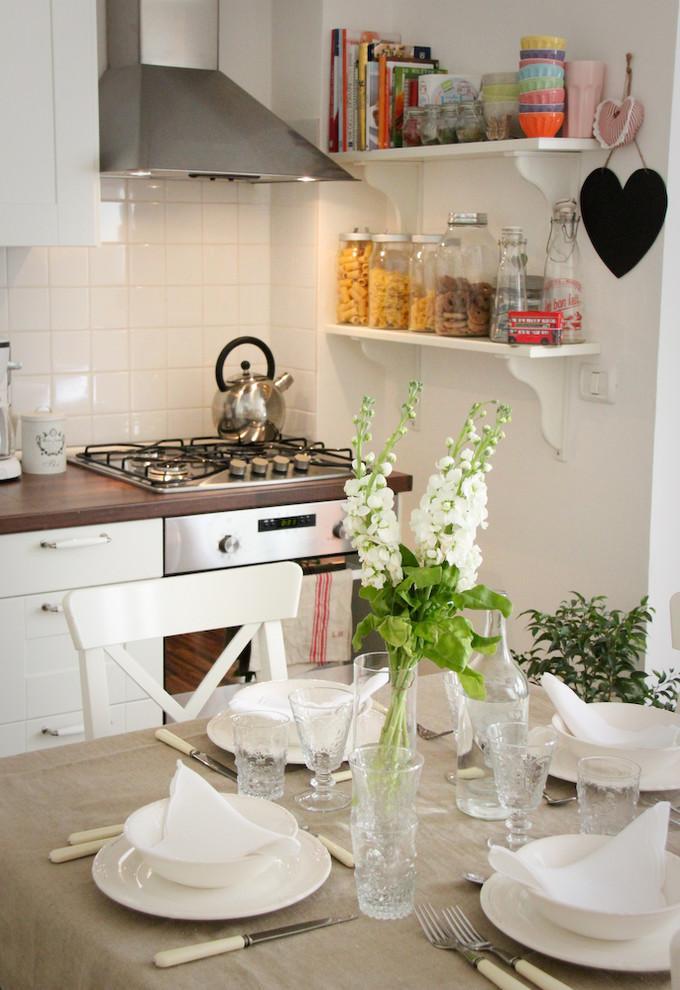 Small decorative black heart - 50 Creative Home Decorating Ideas