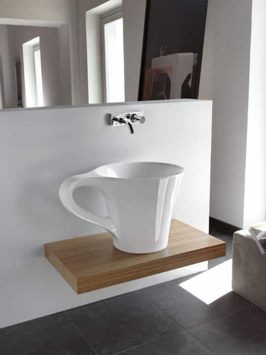 Bathroom Basin Cup by Artceram