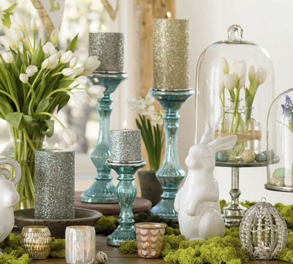 Beautiful Easter table 44 Home Decoration Ideas for table, living room and door