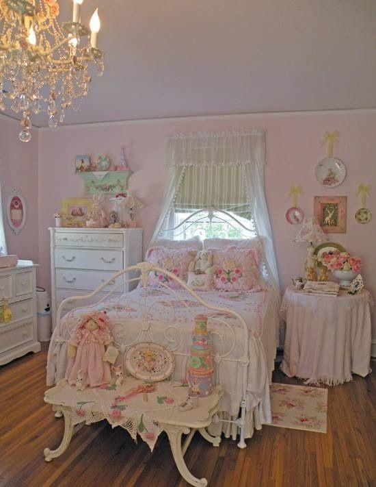 Feminine Shabby Chic Bedroom Interior Ideas And Examples