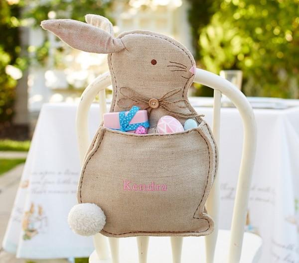 Bunny Chair Backer storing treats