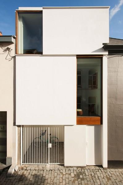 Creative functional small minimalist Belgium house