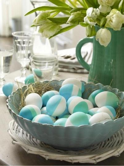 Easter eggs– Easter Basket and Eggs Ideas for Decorations in Many Colors