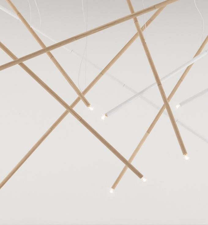Enrico Fratesi . not bamboo lamp