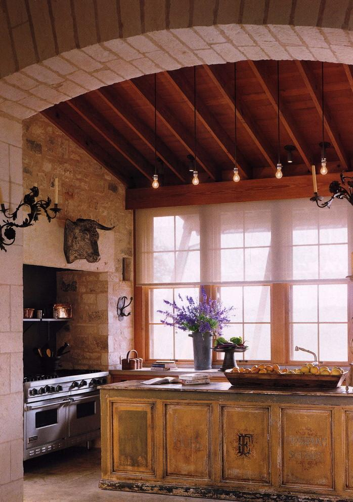 European style interior for a rustic kitchen - 16 Advices and Examples for Creating a Cozy Atmosphere in the Cooking Areas