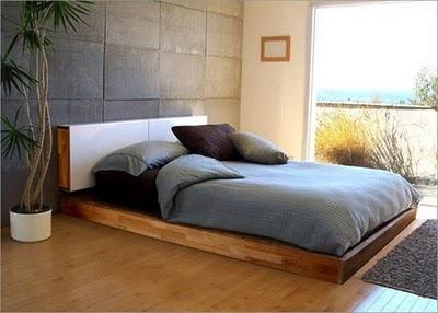 Minimalist Interior Design of small bedroom