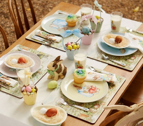 Peter Rabbit - Funny table centerpiece