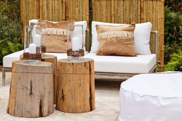Garden seating area-Sweet and Interesting Patio and Garden Furniture Ideas