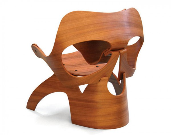 Skull chair by Vladi Rapaport – Surreal Furniture Product Design