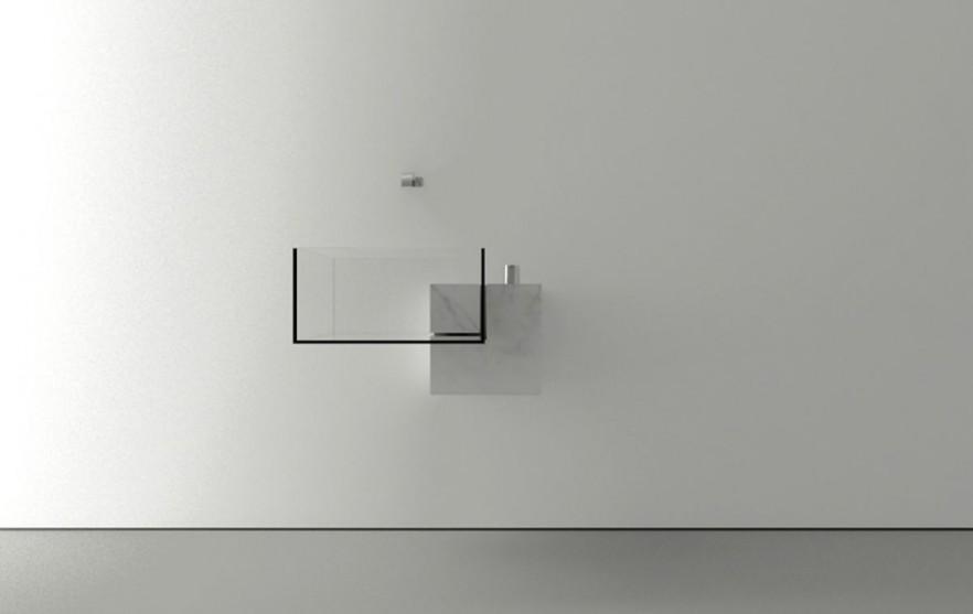 Modern bathroom equipment design by Victor Vasilev