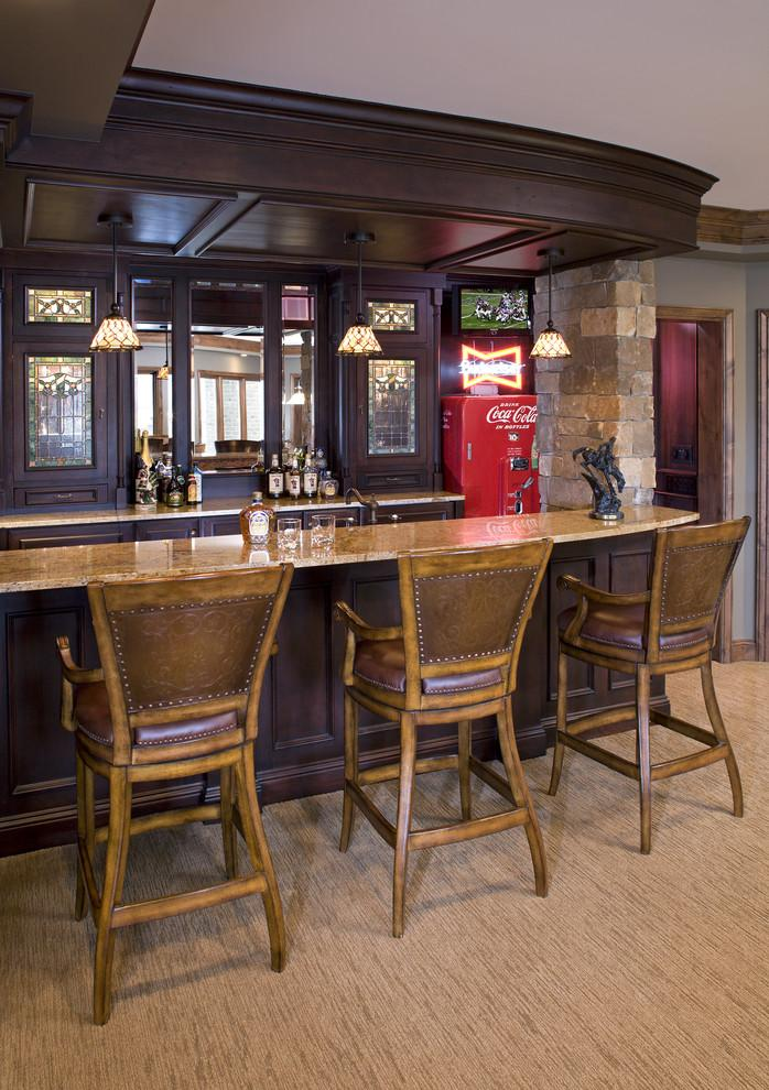 A couple's home entertainment area – a private bar - Interior Design Trends - Having a Pub in the house