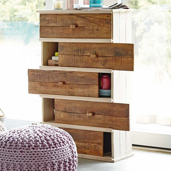 contemporary-chest-of-drawers-with-a-rustic-touch- 21 Creative and Functional Home Furniture Examples