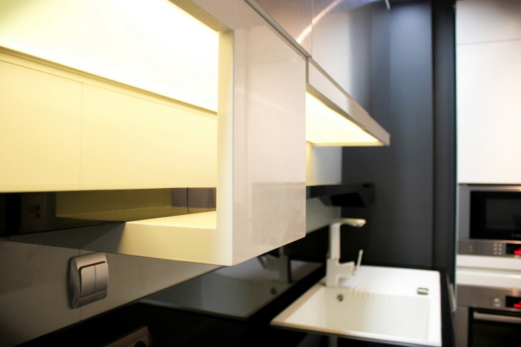 details from the kitchen-Interior Design of Apartment in Bulgaria