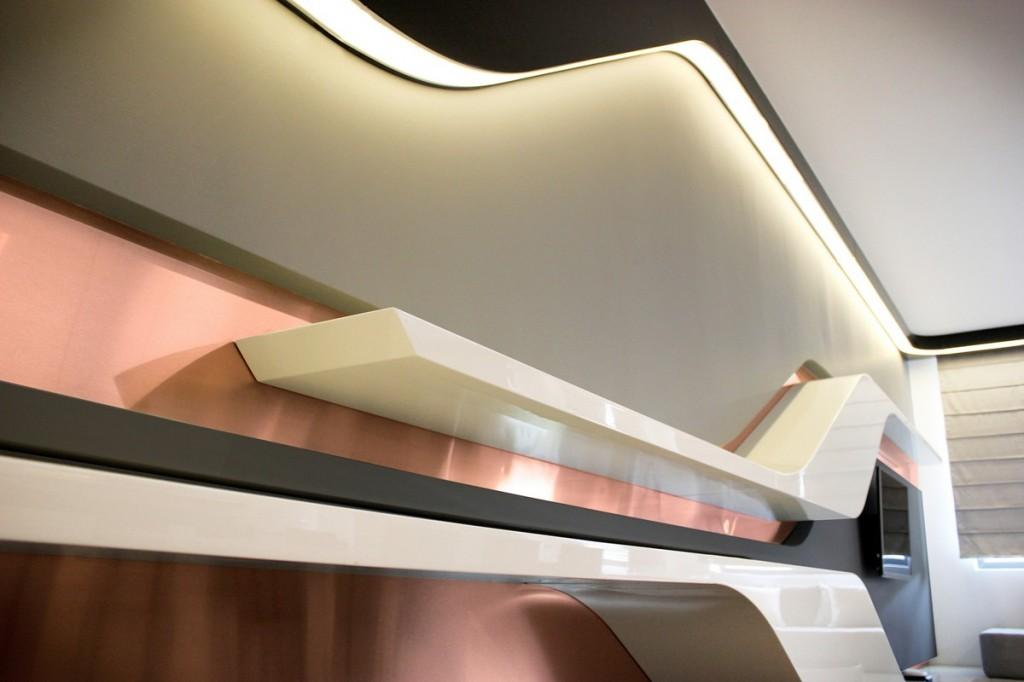 dynamics in interior design-Interior Design of Apartment in Bulgaria