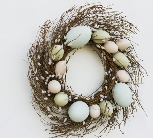 Easter Decoration Ideas - 44 Home Decoration Ideas for table, living room and door