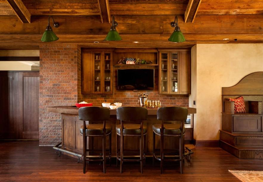 Interior Design Trends Having a Home Pub or Bar Founterior : interior design of a home pub with bar1 882x611 from founterior.com size 882 x 611 jpeg 116kB