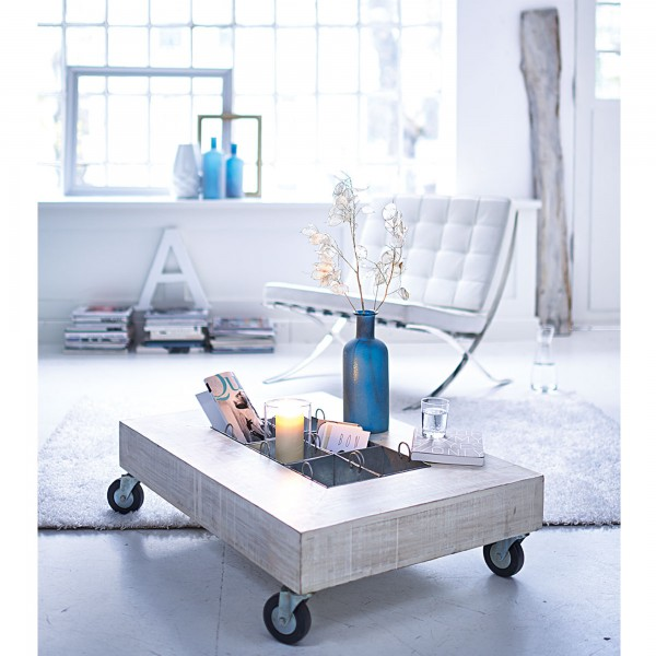 low-in-height-mobile-coffee-table- 21 Creative and Functional Home Furniture Examples