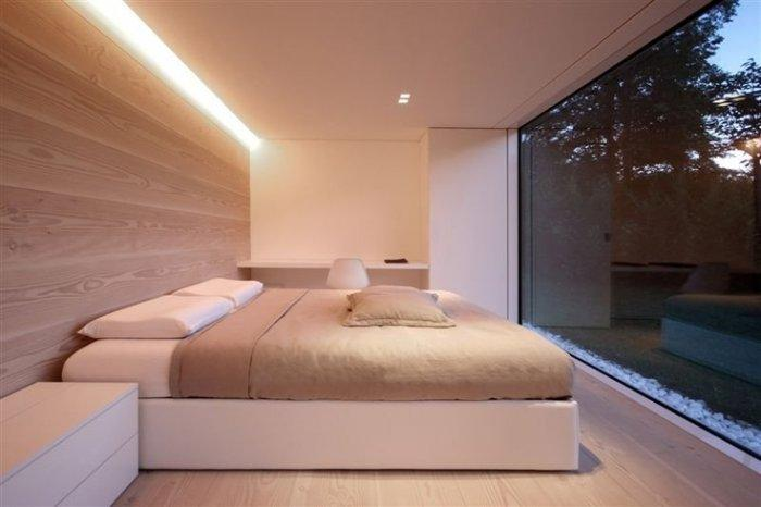 minimalist Bedroom in white by JS Architecture-17 Stirring Minimalist Bedroom Interior Design Images