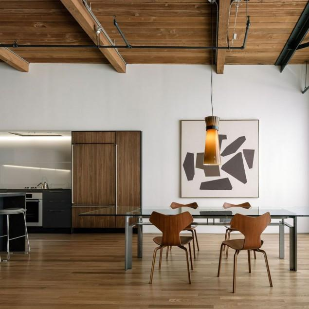The interior design of a contemporary property in San Francisco
