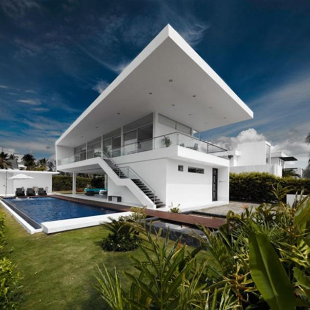 Minimalist Residence Interior and Architecture in Colombia