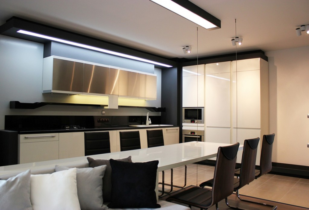 Futuristic Small Apartment Interior Design In Bulgaria
