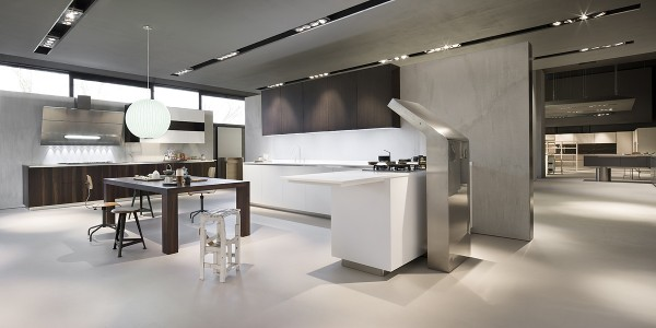 pure-minimalism-and-high-tech-devices-blended-in-a-modern-kitchen- Interior Design and Furniture trends for cooking areas