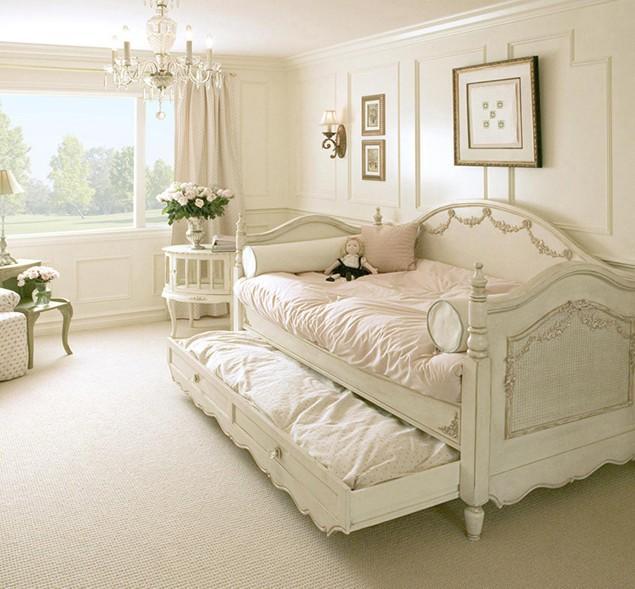 Feminine Shabby Chic Bedroom Interior Ideas and Examples