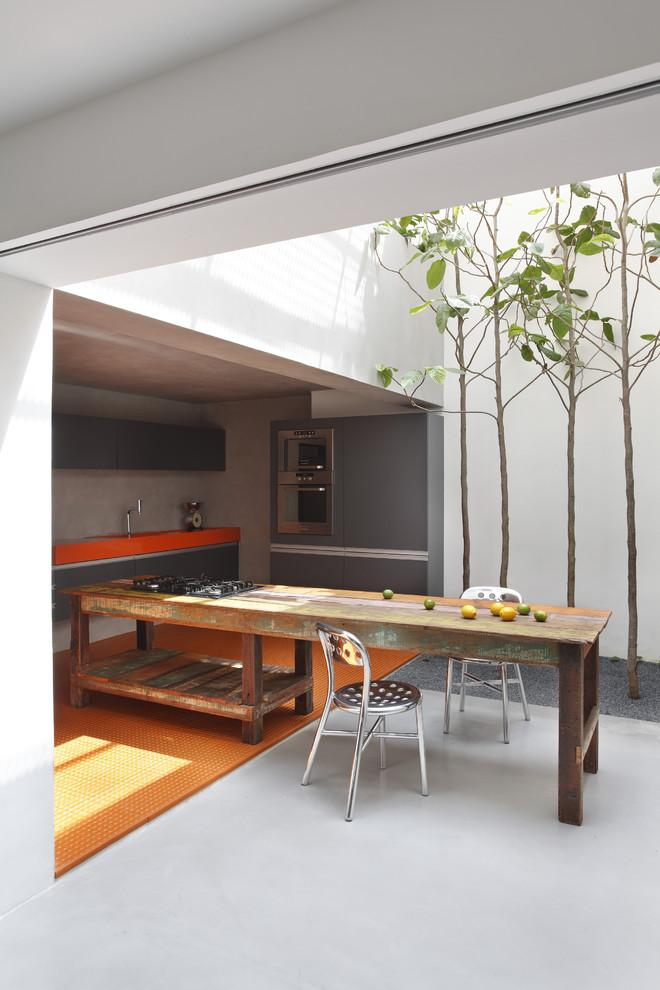 Simple, Stylish And Elegant Small Kitchen With Minimalist Interior Design   Small  House In Simple