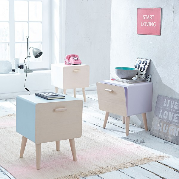 sweet-little-cabinets-in-joyful-colors- 21 Creative and Functional Home Furniture Examples