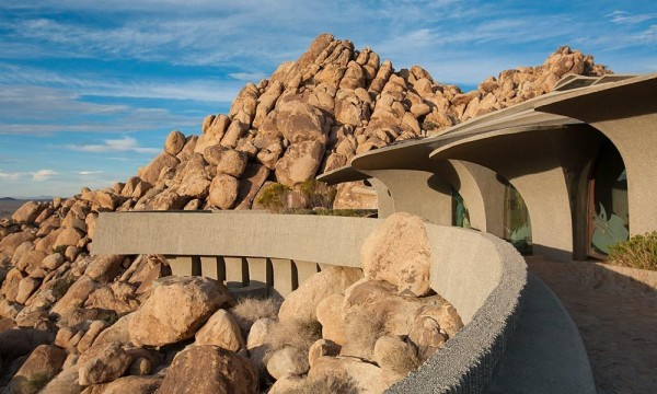 Organic Desert Residence Architecture And Interior
