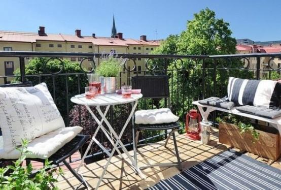 Awesome sunny Scandinavian terrace-Trendy designs for outdoor home spaces