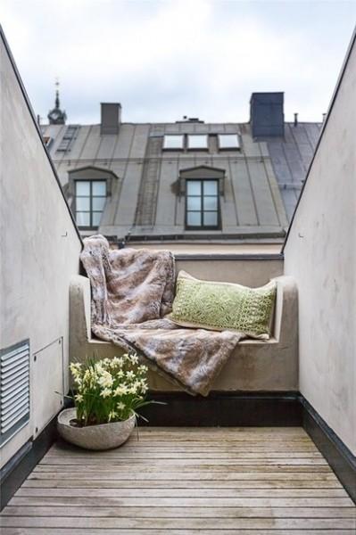 Awsome small Scandinavian balcony-Trendy designs for outdoor home spaces