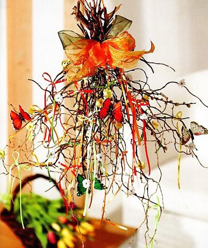 Branches make a perfect table centerpiece