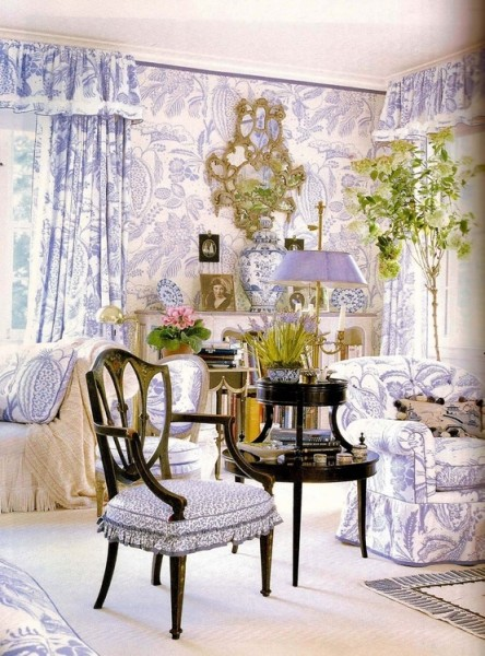 Classic romantic living room- interior design ideas for own, private, intimate place.