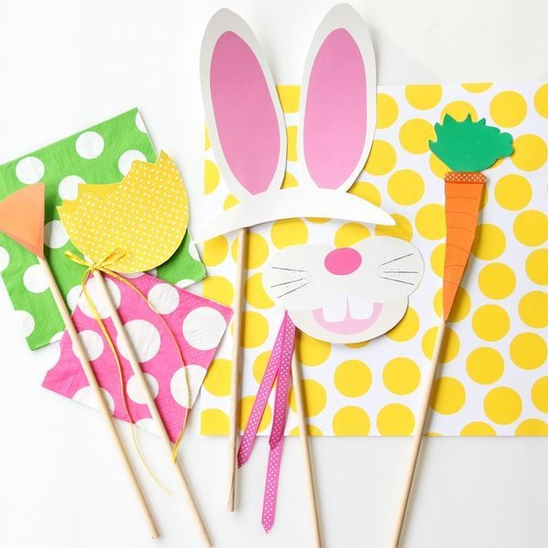 Colorful Easter Photo Printables-home decorations with impressive holiday ideas