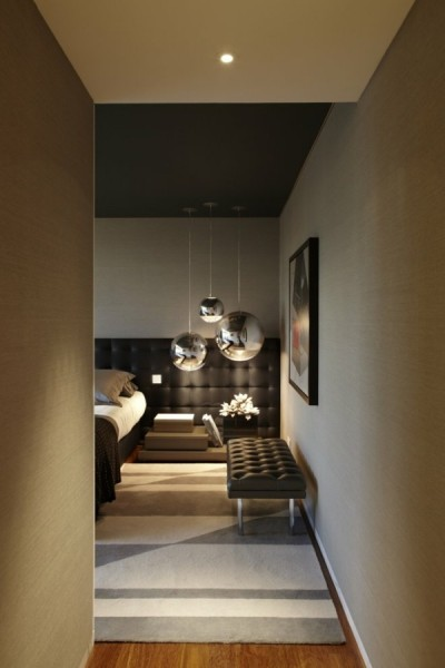 Contemporary and elegant room in a hotel-Bedroom Interior Design Examples Inspired from Hotel Rooms