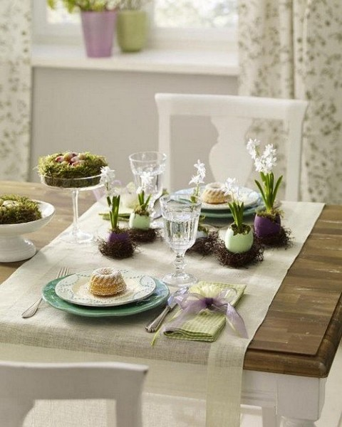 Contemporary home festive table– Inspiring Easter Decorating Ideas for a Memorable Holiday