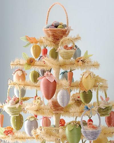 Creative Easter table centerpiece