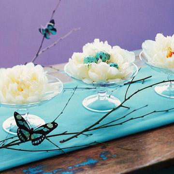 Creative Easter table centerpieces