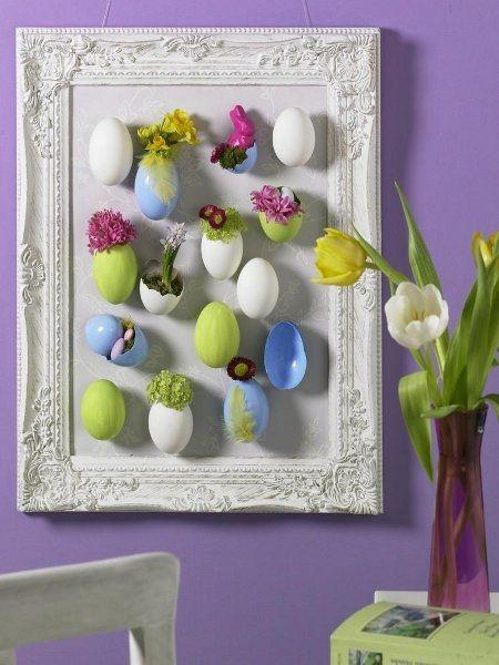 Creative handcrafted Easter wall art-home decorations with impressive holiday ideas